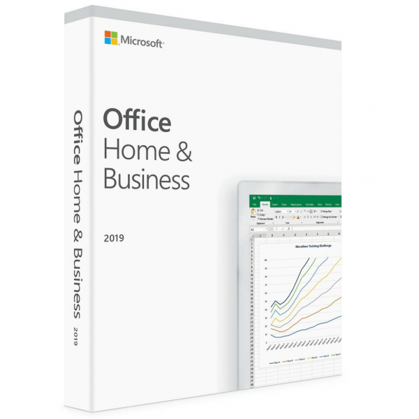 Microsoft Office Home and Business 2019 Medialess 32/64-bit English