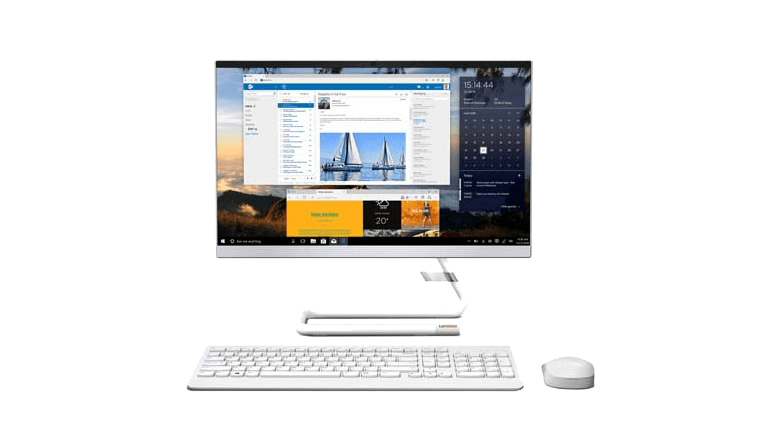 Lenovo All-In-One A340-22*Style Touch FullHD DualCore 4GB/SSD128 W10 White